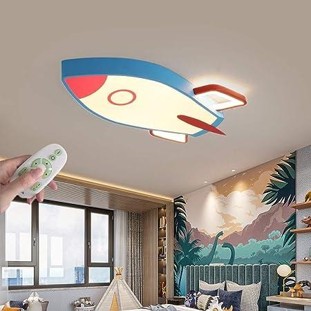 AUNEVN Kinderzimmerlampe Modern Kreativ Deckenleuchte Rund Kompass Design LED Dimmbar mit Fernbedienung Jungen M/ädchen Schlafzimmer Deckenlampe /Ø42cm Balkon Gang Deckenstrahler Augenschutz Beleuchtung