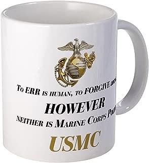 CafePress USMC Marine Corps Policy Mug Unique Coffee Mug, Coffee Cup