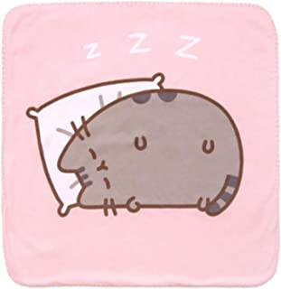Pusheen Cat Nap Pet Blanket Cat Gift 24 x 24 Inches Machine Wash Polyester