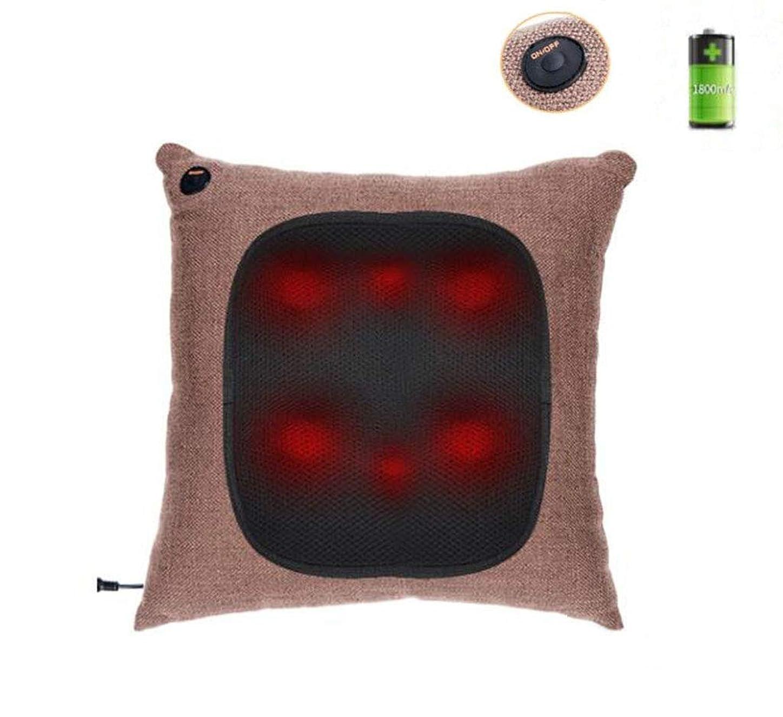 ボールエクスタシーフラッシュのように素早く多機能マッサージ枕、オフィス、自宅、車、首、肩、腰、背中、ボディマッサージクッション、携帯用枕、充電式、ワイヤレス