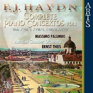F.J. Haydn: Complete Piano Concertos - Vol. 1