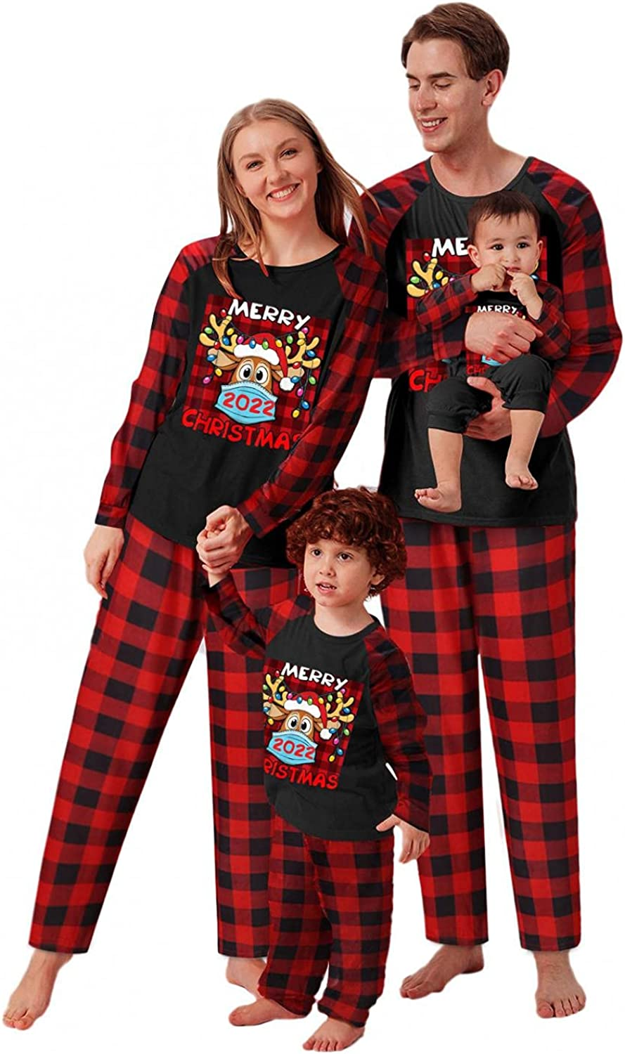 Matching Family Pajamas Sets Christmas 70% OFF Outlet with PJ's Long Sleev Max 63% OFF Deer