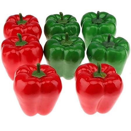 Artificial Red Pepper Artificial Fake Decorative Plastic Vegetables