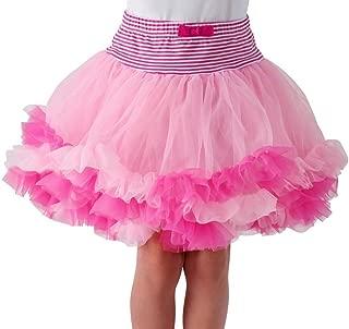 Girls' Pettiskirt, Light Pink Tutu Skirt (Large / 7-8)