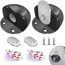 fermaporta in gomma per prevenire danni muri IwiLCS con colle 3M Fermaporta ovale battiscopa porte