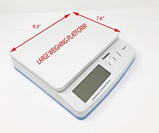 Weighology Heavy Duty Digital Postal Parcel Scale UPS Post Office Scale (66 Lb Capacity)