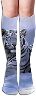Tube High Tiger Siberian Keen Sock Boots Compression Long Stockings For Athletics,Travel Socks