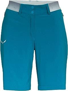 SALEWA Pantalones Cortos de Lino Fanes Chino para Mujer