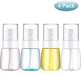 4 Pieces 1 Oz (30ML) Travel Spray Bottles Mist Spray Bottle Fine Mist Spray Bottles Refillable Travel Containers for Skincare Lotion/ Makeup Sprayer/ Perfumes/ Cosmetic