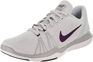 separation shoes 68807 b4bc6 Nike Womens Flex Supreme Tr 5 Pure Platinum Night Purple Training Shoe 10  Women US