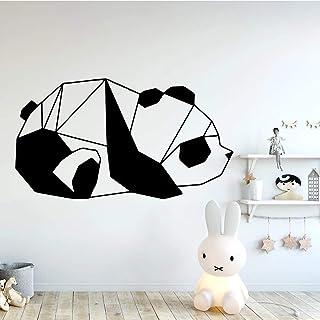 Belle Panda Stickers Muraux Mode Stickers Muraux Pour Enfants Chambre Salon Décoration de La Maison Stickers Muraux Imperm...