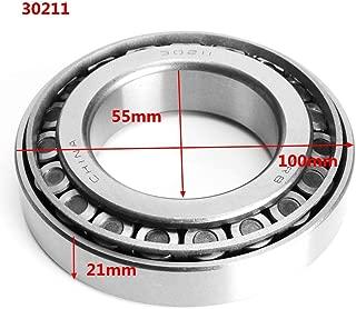 MITUHAKI 30211-30213 Tapered Roller Bearing High Precision 55/60/65mm Diameter Bearing - 302111 X Taper Roller Bearings - Machinery Parts Ball Bearing