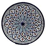 Etnico Decoración Plato Cerámica Pared Caudal Decorativo Marruecos 1103201007