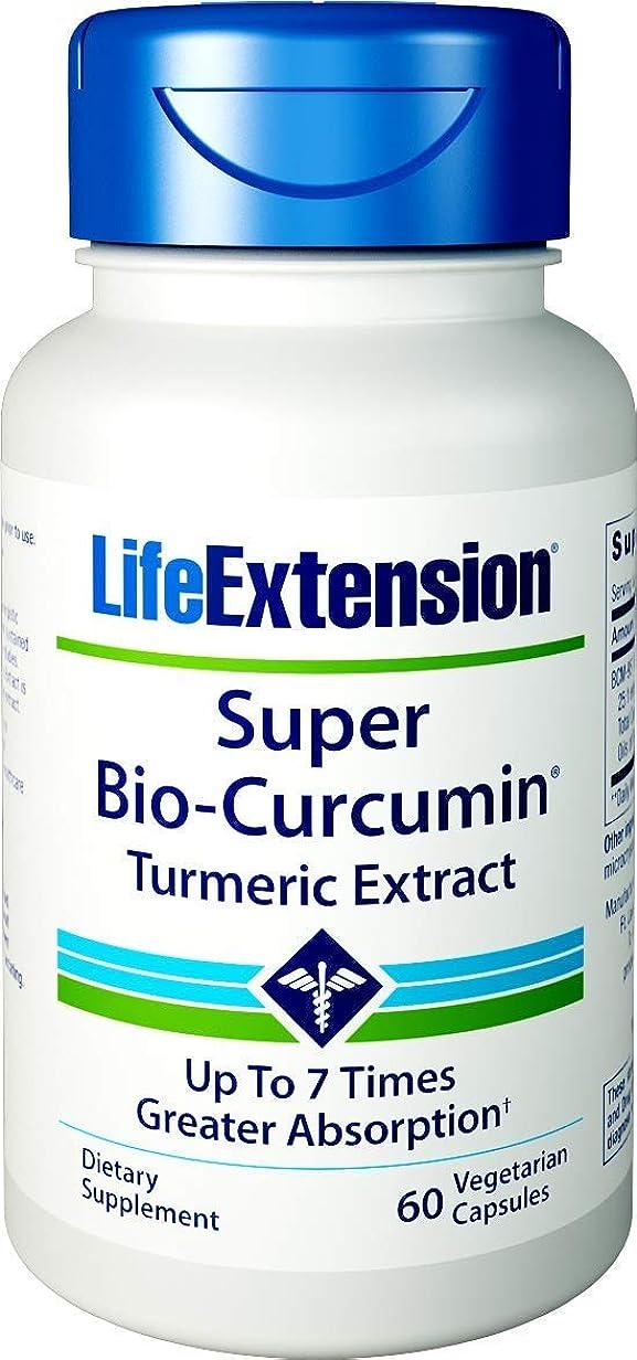図書館ドラム疑い者Life Extension(ライフエクステンション)スーパーバイオクルクミン 400mg ベジタリアン対応カプセル 60錠 [海外直送品] -4 Packs