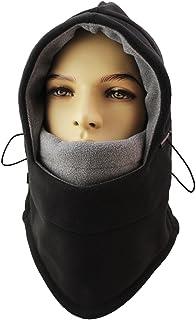 ماسک صورت Ski Windac Miracu Light Balaclava برای آقایان ، خانمها ، لباس گرم گرم پشم گوسفند وجانوران زمستانی / هود مخصوص ورزش در فضای باز