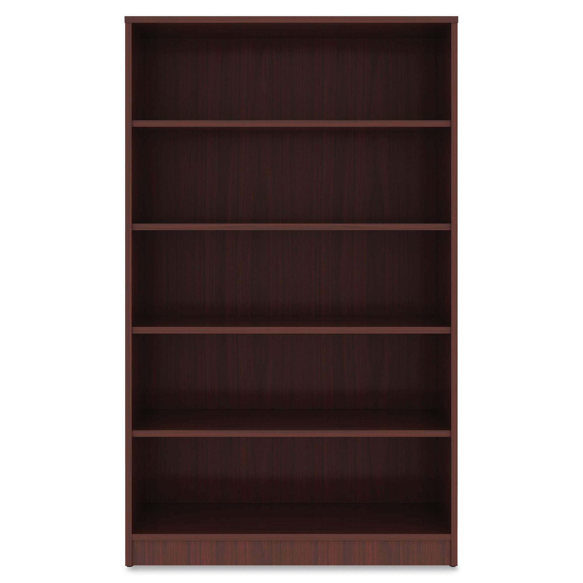 Lorell Bookshelf Bookcase, Mahogany