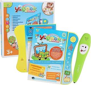 كتاب لوحي صوتي تعليمي للاطفال من انسيلف مع قلم تعليم يعد لعبة تعليمية تفاعلية للاباء والاطفال لعمر 3 سنوات فما فوق