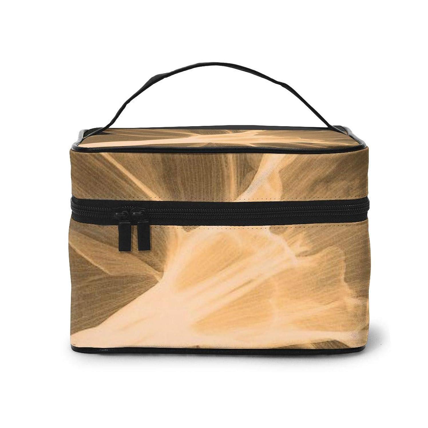 無条件私芽メイクポーチ 化粧ポーチ コスメバッグ バニティケース トラベルポーチ アサガオ 雑貨 小物入れ 出張用 超軽量 機能的 大容量 収納ボックス