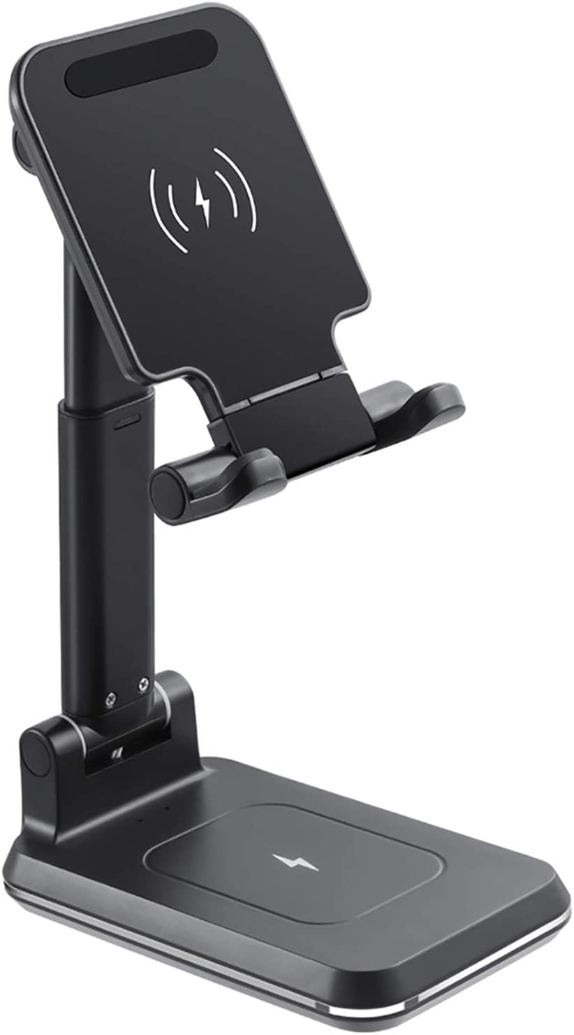 Fast Wireless Charging Stand for Desk Foldable Cell Phon 1 trend rank 2 in Max 45% OFF