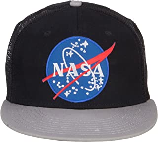 e4Hats.com NASA Lunar Patched Flat Bill Mesh Cap