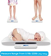 Baby Scale, Multi-Function Toddler Scale, Baby Scale Digital, Pet Scale, Infant Scale..