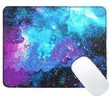 iVoler Galaxy Customized Gaming und Office Mauspad Mit Textur (300mmx250mmx3mm, Größe: L) Gross Mousepad Rutschfest und Präzise Speed Pad Rubber Base für Computer, PC und Laptop