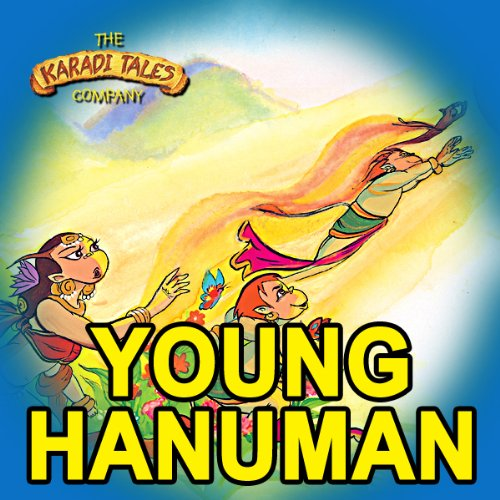 Young Hanuman audiobook cover art