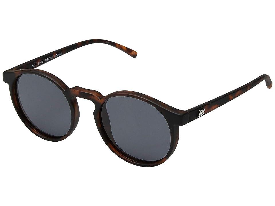 Le Specs Teen Spirit Deux (Matte Tortoise) Fashion Sunglasses