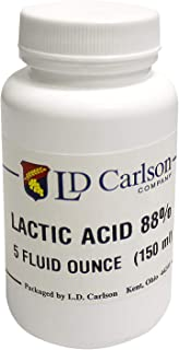 Home Brew Ohio Lactic Acid 88% 5oz for Home Brew, White (6111)