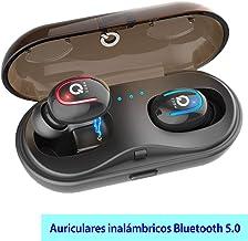 Auriculares Bluetooth, con Estuche de Carga Auriculares