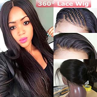 Best 360 lace frontal wig cheap Reviews