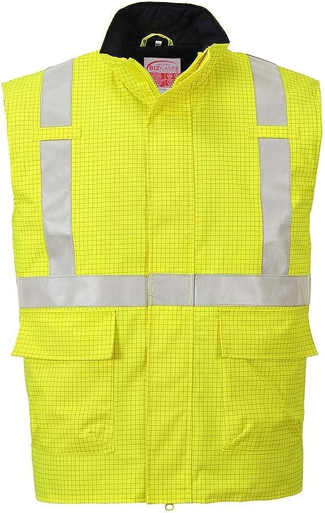 Portwest Workwear Mens Bizflame FR Bodywarmer