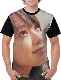 メンズ 戸田 恵梨香 とだ えりか9 Tシャツメンズ 半袖 吸水速乾 プリント 半袖のTシャツ はワンマンデザインのTシャツ 肌着 夏服 人気 快適 軽い 柔らかい インナーシャツ おしゃれ シャツ ゆったり 下着