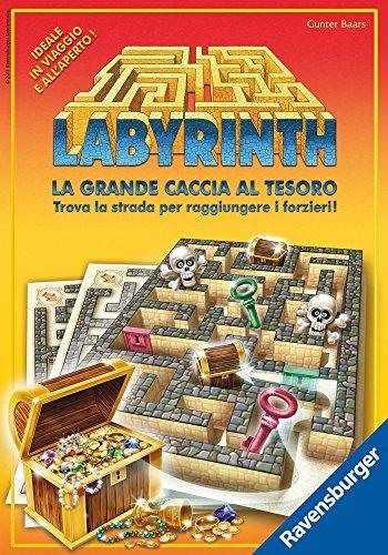 Ravensburger 26548 Labyrinth LA GRANDE CACCIA AL TESORO