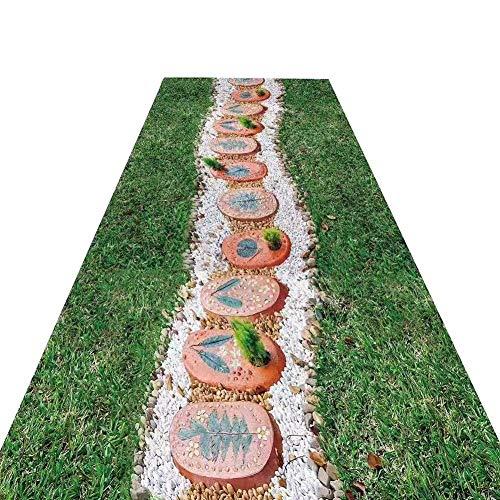 WCS Desgaste antiincrustante químico del pasillo del pasillo 3D del pasillo de la alfombra, alfombra de la boda - pasillo de la ceremonia - alfombra VIP - alfombra del acontecimiento, altura de la pil