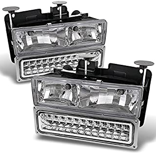 88 98 chevy glass headlights