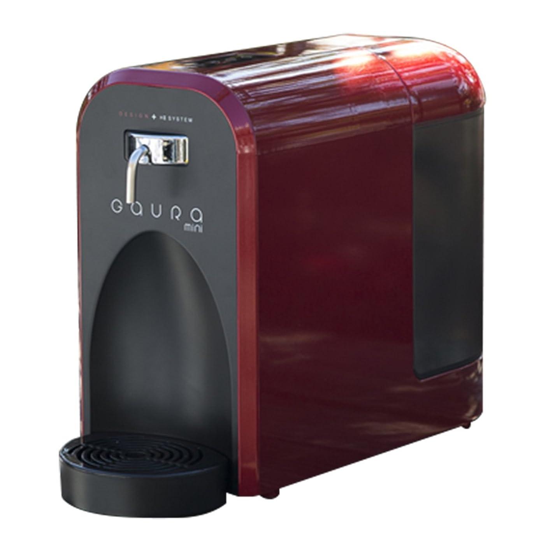 災害提案する明示的に水素水 水素水生成器 GAURAmini(ガウラミニ) レッド 高濃度の水素水をご自宅で、オフィスでオシャレな水素水サーバー
