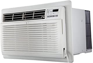LG 8,000 BTU 115v Through-The-Wall Air Conditioner - Cooler - 2344.57 W Cooling Capacity - 330 Sq. ft. Coverage - Yes - Yes - White