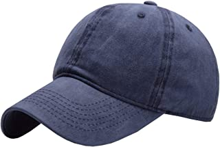 Kids Distresed-Washed Baseball Hat Infant Toddler Baby Boy Girl Hats Distresed for 2-8 Years
