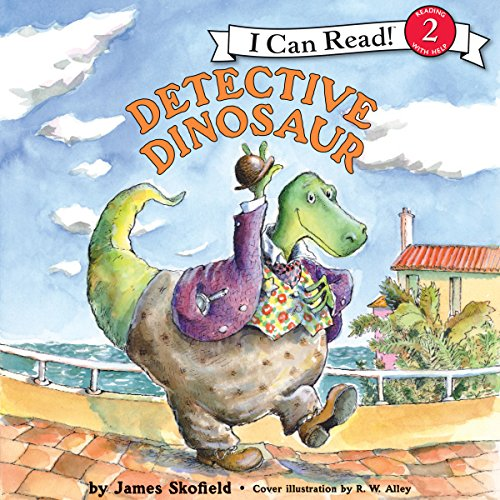 Detective Dinosaur audiobook cover art
