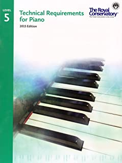 TRP05 - Royal Conservatory Technical Requirements for Piano Level 5 2015 Edition