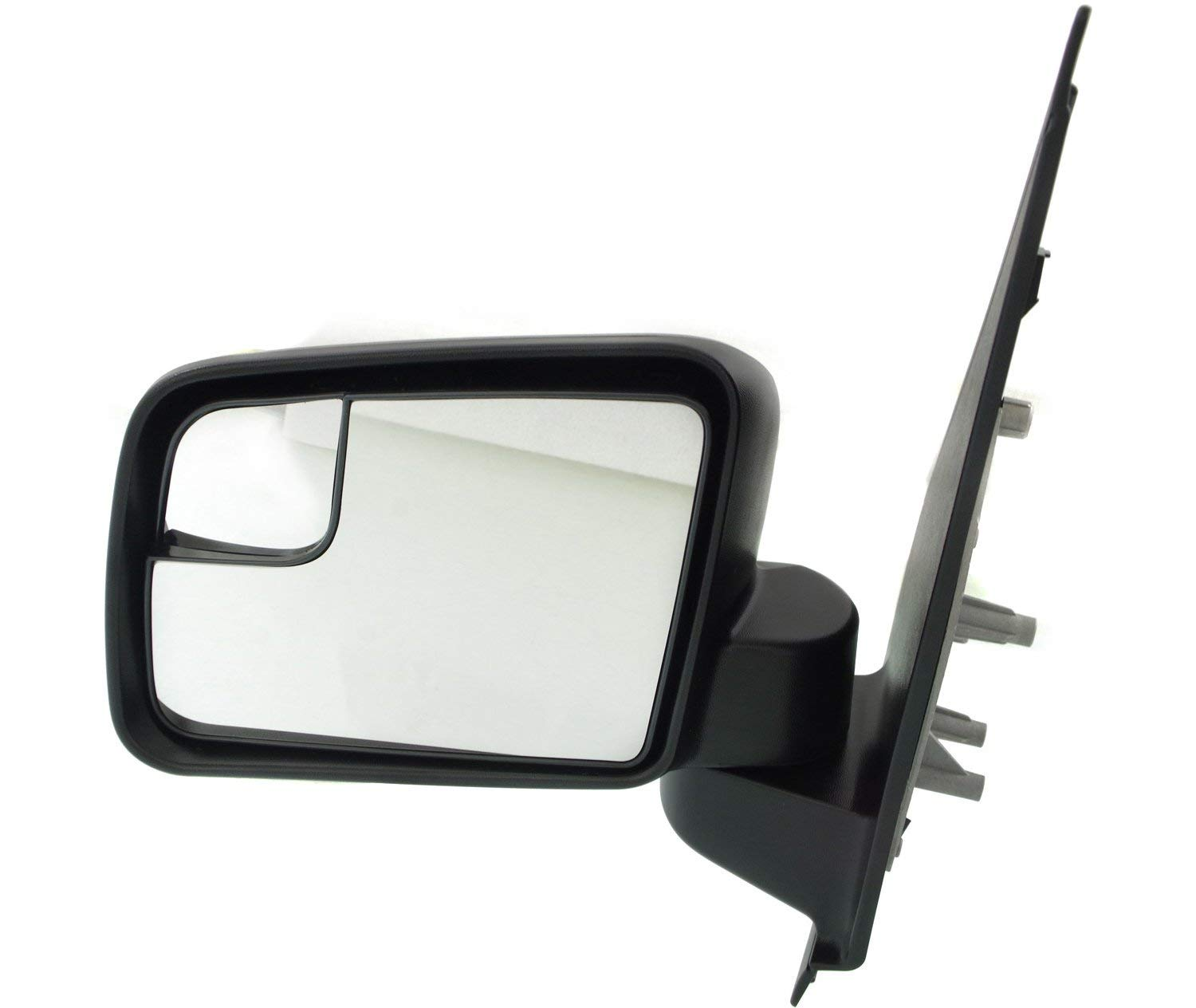 Mirror for FORD TRANSIT CONNECT 11-13 RH Power Manual Folding From 10-4-10 Textured Black Kool Vue