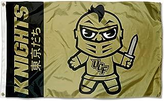 Sewing Concepts Central Florida Knights Kawaii Tokyodachi Mascot Flag
