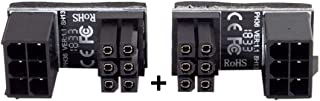 Sponsored Ad – Cablecc ATX 6Pin Female to 6pin Male 180 Degree AngledPower Adapter for Desktops Graphics Card