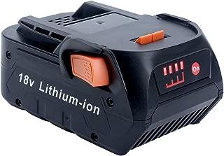 Epowon 18 Volt 4.0Ah Lithium Ion Compact Battery for RIDGID 18V Drill R840087 R840083 R840084 R840086 AC840085 AC840087P