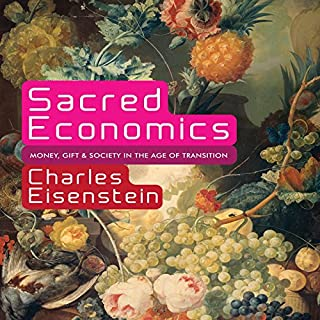 Sacred Economics audiobook cover art