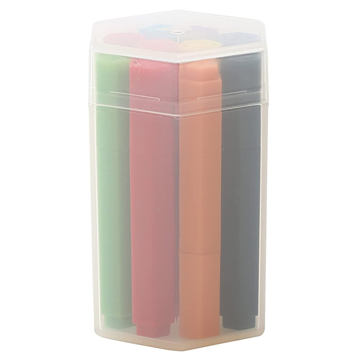 Muji Mini Size Hexagonal Aqueous Ink Pen, 10 Colors Set in Tube