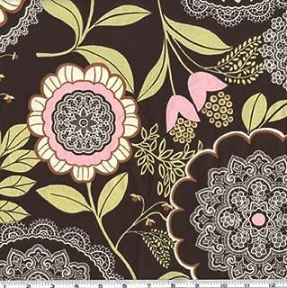 FreeSpirit Fabrics Free Spirit AW-129 Amy Butler Lotus Lacework Fabric by The Yard, Olive