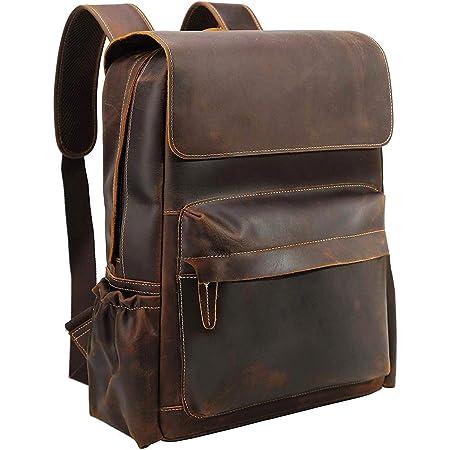 Vintage Leather Backpack Men\u2019s Leather Backpack Full Grain Tan Leather Backpack for Men Backpackers Bag Travel Bag