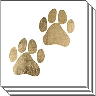 Paw Prints Temporary Tattoos (20-Pack) | Skin Safe | MADE IN THE USA| Removable